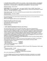 Conseil du 26 janvier 2015