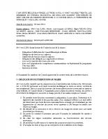 Conseil du 03 avril 2014