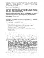Conseil du 20 novembre 2014